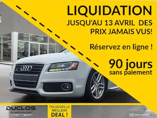 2012 Audi A5 S-Line Quattro Bancs Chauff Toit Coupe