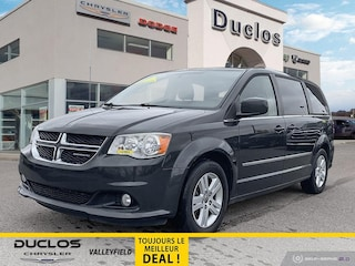 2012 Dodge Grand Caravan 4dr Wgn Crew Cruise Super Console Mags Stow&GO
