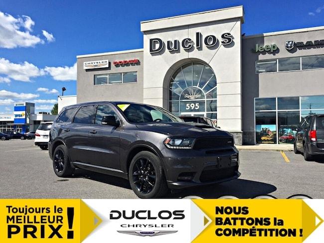 2018 Dodge Durango R/T Blacktop NAV CAMÉRA Mags 20 7 Pass Cuir VUS