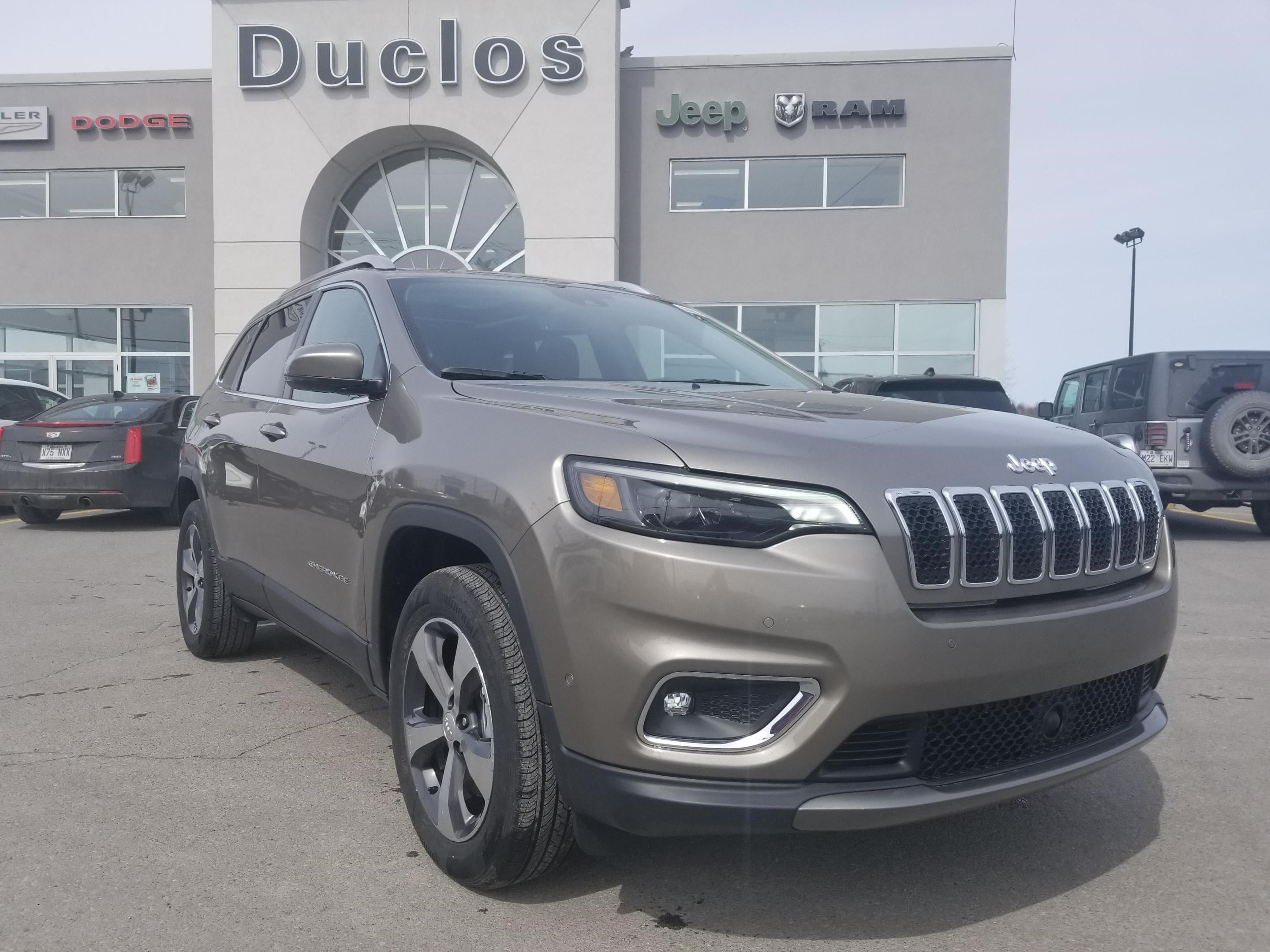 2019 Jeep Cherokee LIMITED VUS