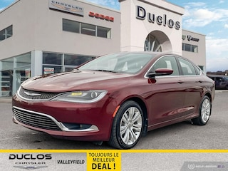2016 Chrysler 200 Limited Bancs/Volant Chauf Cruise Demarreur CAM Berline
