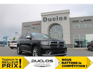 2019 Dodge Durango Citadel*6pass*NAV*DVD*CAMÉRA* VUS