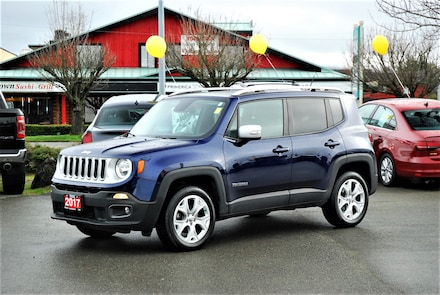2017 Jeep Renegade Limited 4X4 *NAV* *LEATHER* SUV