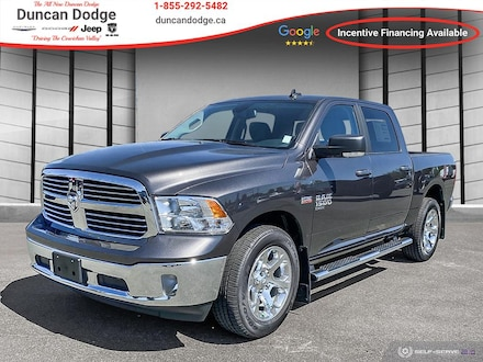 2021 Ram 1500 Classic SLT **HEATED SEATS**REMOTE START** 4x4 Crew Cab 5.6 ft. box 140 in. WB for sale in Duncan, BC
