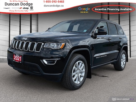 2021 Jeep Grand Cherokee Laredo 4x4 for sale in Duncan, BC