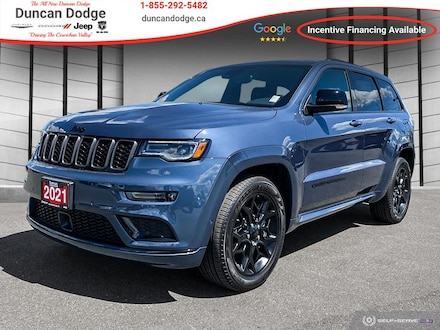 2021 Jeep Grand Cherokee LIMITED X **COOLED SEATS**PANO SUNROOF**SAFTEY** 4x4 for sale in Duncan, BC