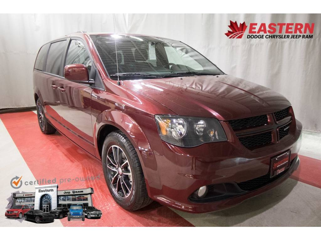 2018 Dodge Grand Caravan GT Loaded Leather Touch Screen MP3 Alloy Wheels