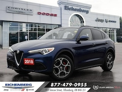 2018 Alfa Romeo Stelvio ALL WHEEL DRIVE SUV