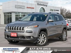 2018 Jeep Cherokee Limited *SAFETY PACKAGES* SUV