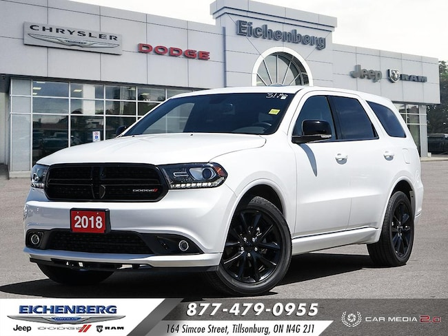 2018 Dodge Durango GT Blacktop Package SUV