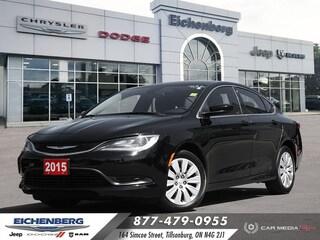 2015 Chrysler 200 LX *48,577 KM'S!* Sedan
