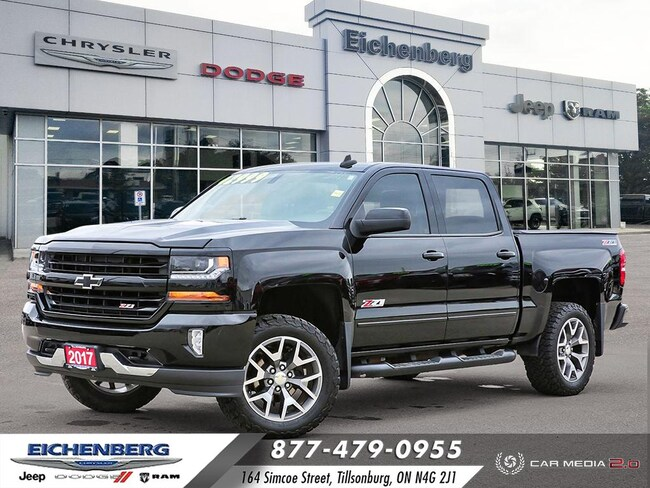 2017 Chevrolet Silverado 1500 *CUSTOMIZED* LT w/2LT Truck Crew Cab