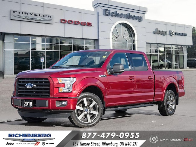 2016 Ford F-150 XLT 4X4 *FX4 Package* Truck SuperCrew Cab