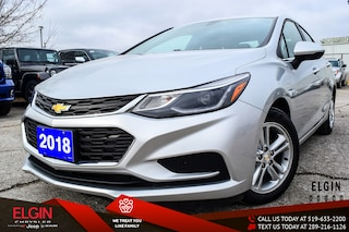 Used 2018 Chevrolet Cruze LT Auto Sedan 1G1BE5SM0J7147363 for Sale in St. Thomas, ON
