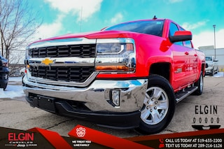 Used 2017 Chevrolet Silverado 1500 1LT Camion cabine Crew 3GCUKREC1HG496386 for Sale in St. Thomas, ON