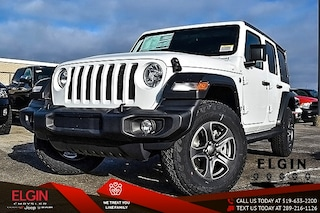 2018 Jeep All-New Wrangler Unlimited Sport S SUV 1C4HJXDG6JW153884