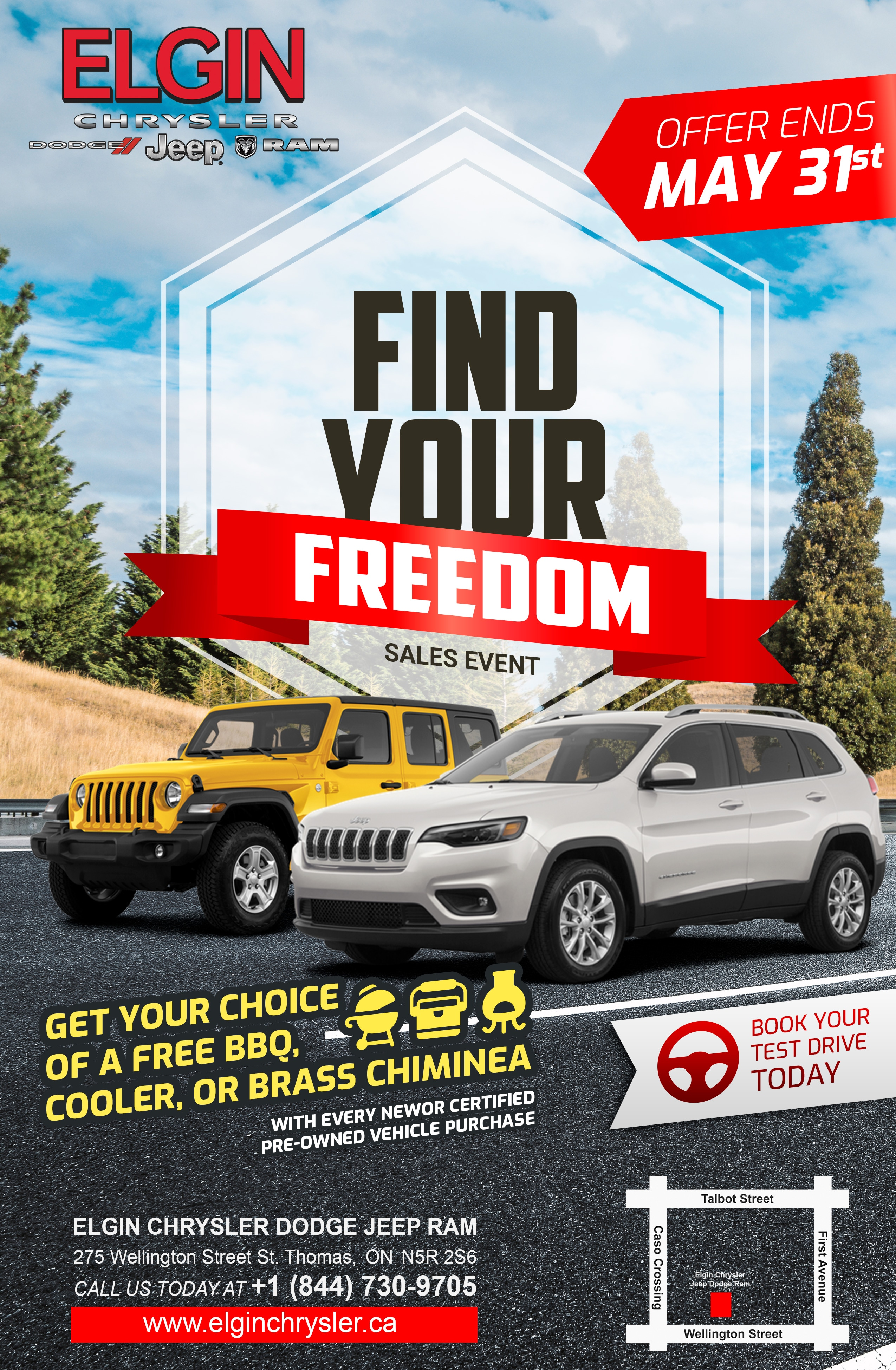 Find Your Freedom Sales Event