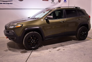2015 Jeep Cherokee Trailhawk+cuir+V-6+toit panoramique VUS
