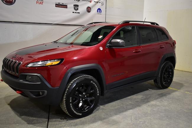 2015 Jeep Cherokee Trailhawk+toit+navigation+cuir VUS