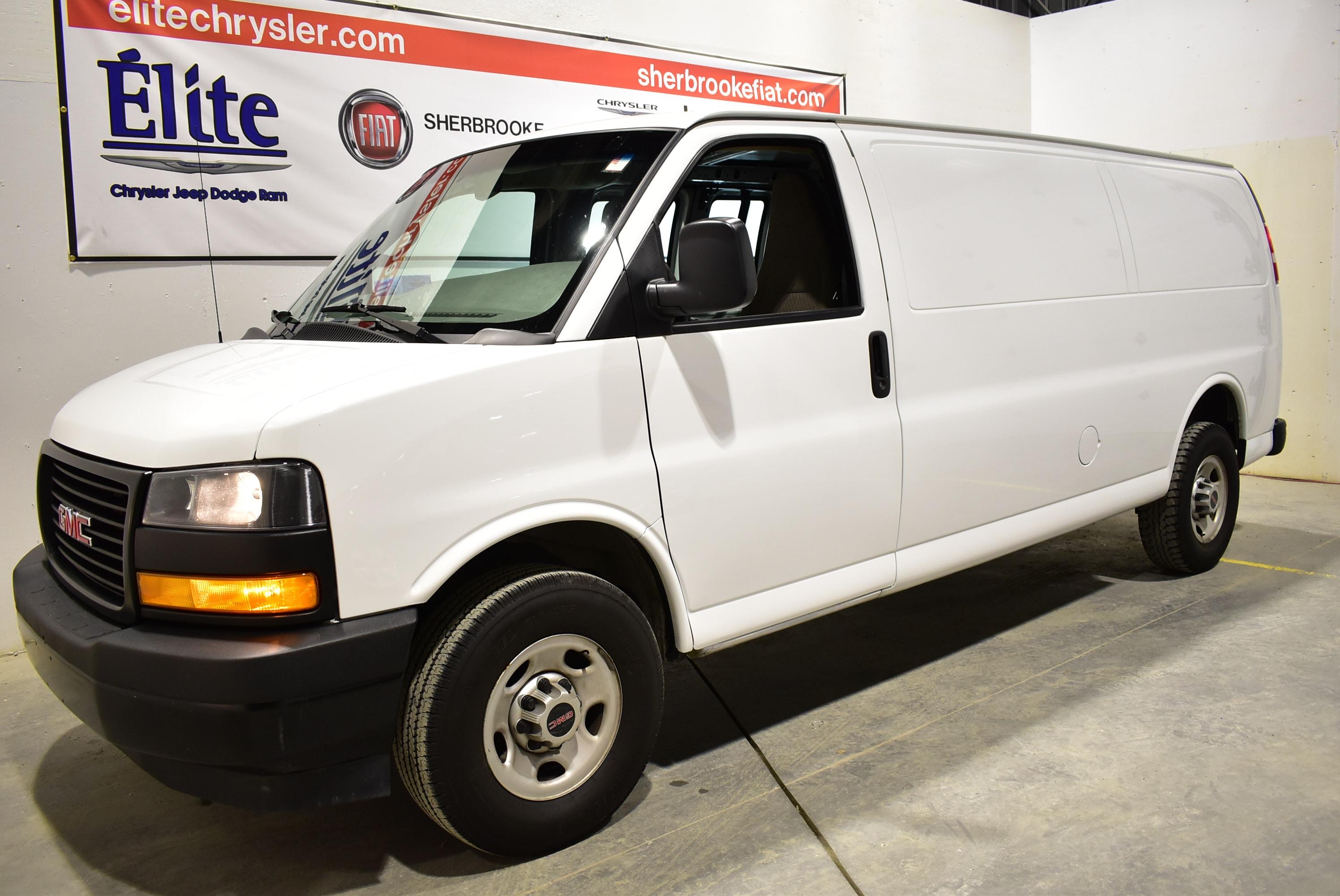 2018 GMC Savana 2500 Cargo Allongé Porte vitrée côté/arrière Van Extended Cargo Van