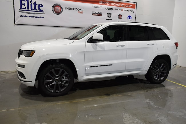 Used 2018 Jeep Grand Cherokee Overland High Altitude ecodiesel+cuir+