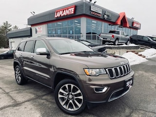 2018 Jeep Grand Cherokee Limited/NAV/Sunroof/Safety Group SUV