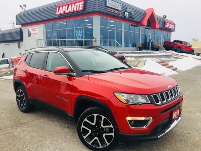 Certified Pre-Owned 2018 Jeep Compass Limited | Panoramic Sunroof | Nav | Leather SUV in Embrun, ON