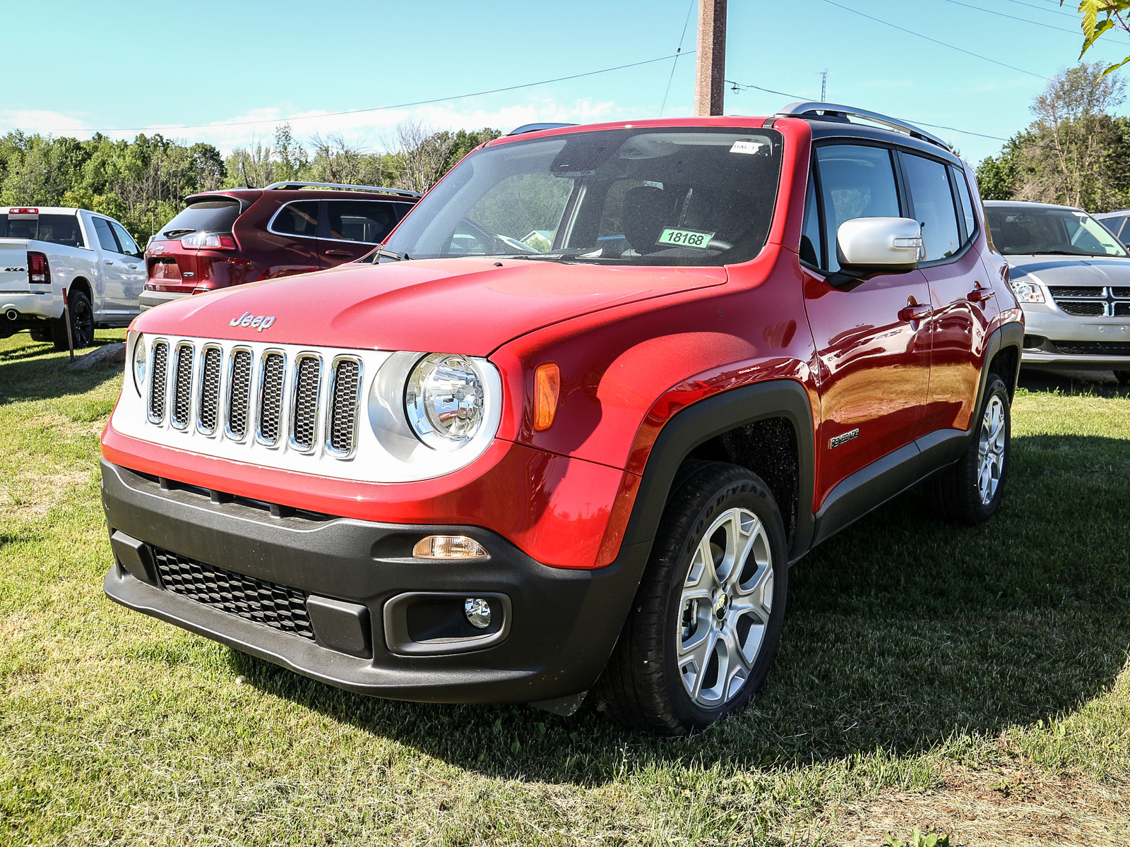 2018 Jeep Renegade Limited Wagon 18168