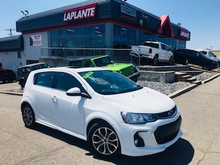 Used 2018 Chevrolet Sonic LT Turbo/RS/Sunroof/Remote Start Hatchback P19-78 in Embrun, ON