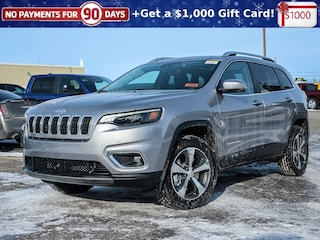 New 2020 Jeep Cherokee Limited Wagon 20039 for sale near Ottawa, ON