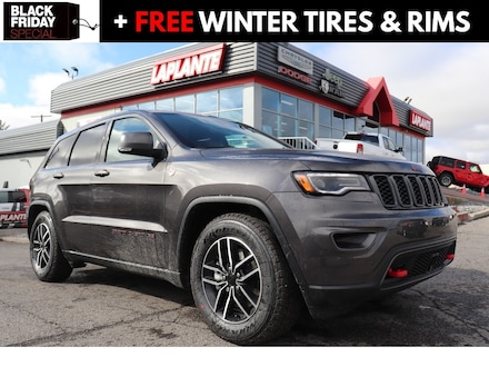 Featured new 2021 Jeep Grand Cherokee Trailhawk SUV 21010 for sale in Embrun, ON