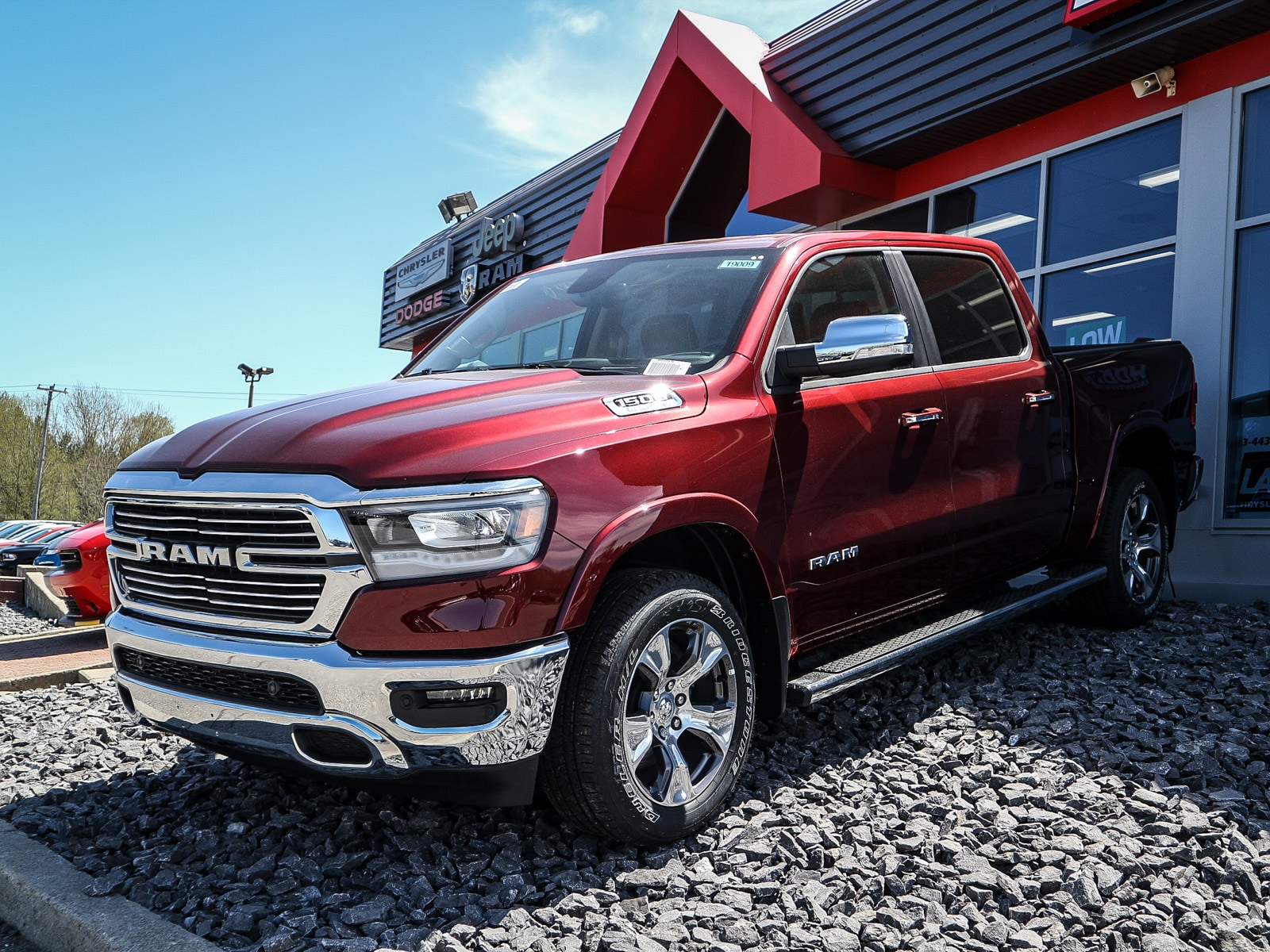 2019 Ram All-New 1500 Laramie Pickup Truck 19009
