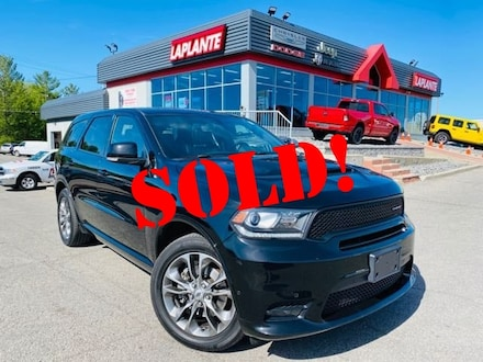 Featured used 2019 Dodge Durango R/T/Sunroof/NAV/Heated Seats+Steering Wheel SUV for sale in Embrun, ON