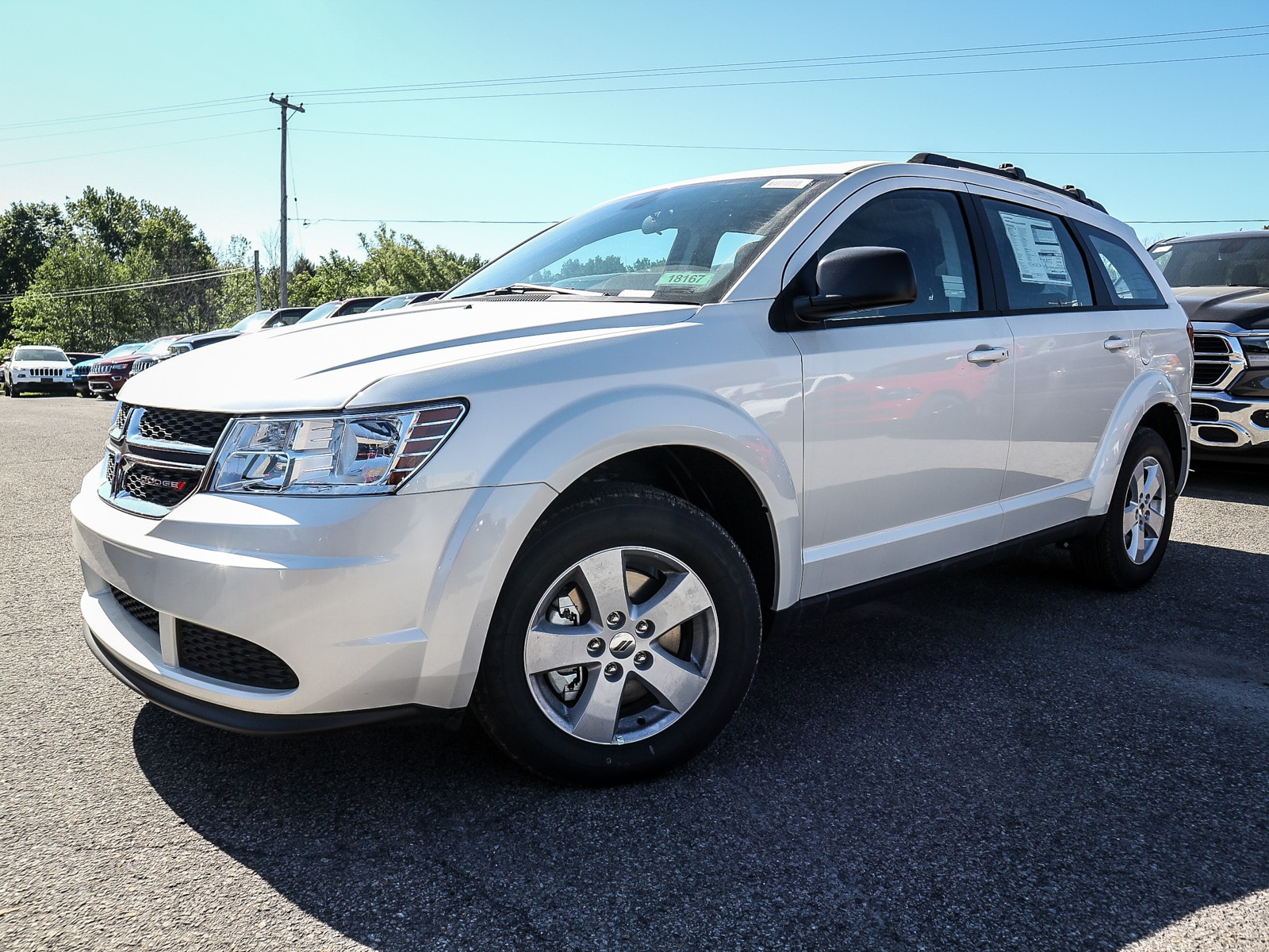 2018 Dodge Journey Canada Value Package Wagon 18167