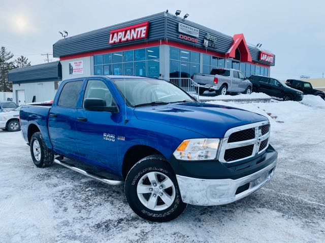 Featured used 2015 Ram 1500 ST Truck Crew Cab for sale in Embrun, ON