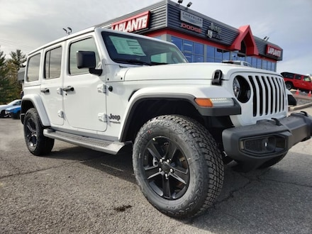 Featured new 2021 Jeep Wrangler Unlimited Sahara Altitude SUV 21009 for sale in Embrun, ON