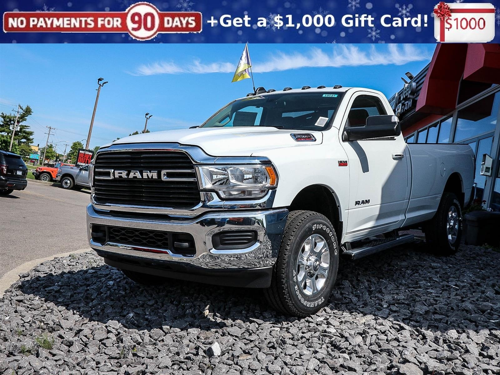 Featured new 2019 Ram New 2500 Big Horn Pickup Truck 19141 for sale in Embrun, ON