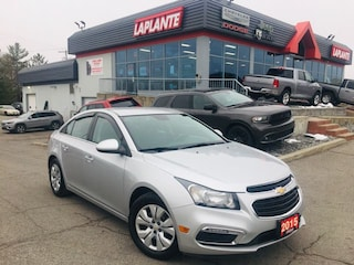 Used 2015 Chevrolet Cruze 1LT/Bluetooth/Backup Camera/Low Km's Sedan P19-110 in Embrun, ON