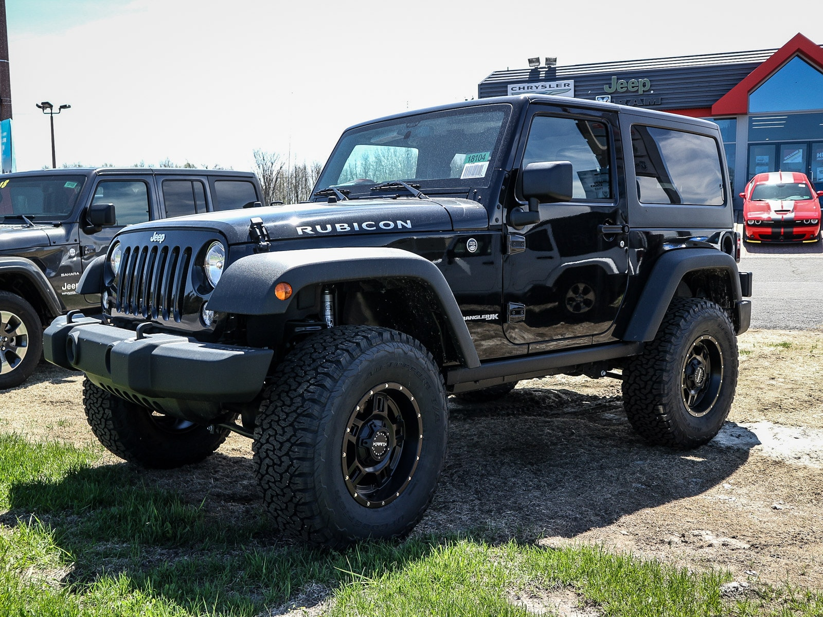 New 2018 Jeep Wrangler JK Rubicon + 2
