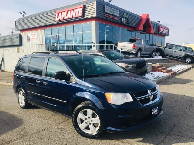 Featured used 2017 Dodge Grand Caravan CVP/Low Mileage/Roof Rails/Power Rear Window Group Van Passenger Van for sale in Embrun, ON