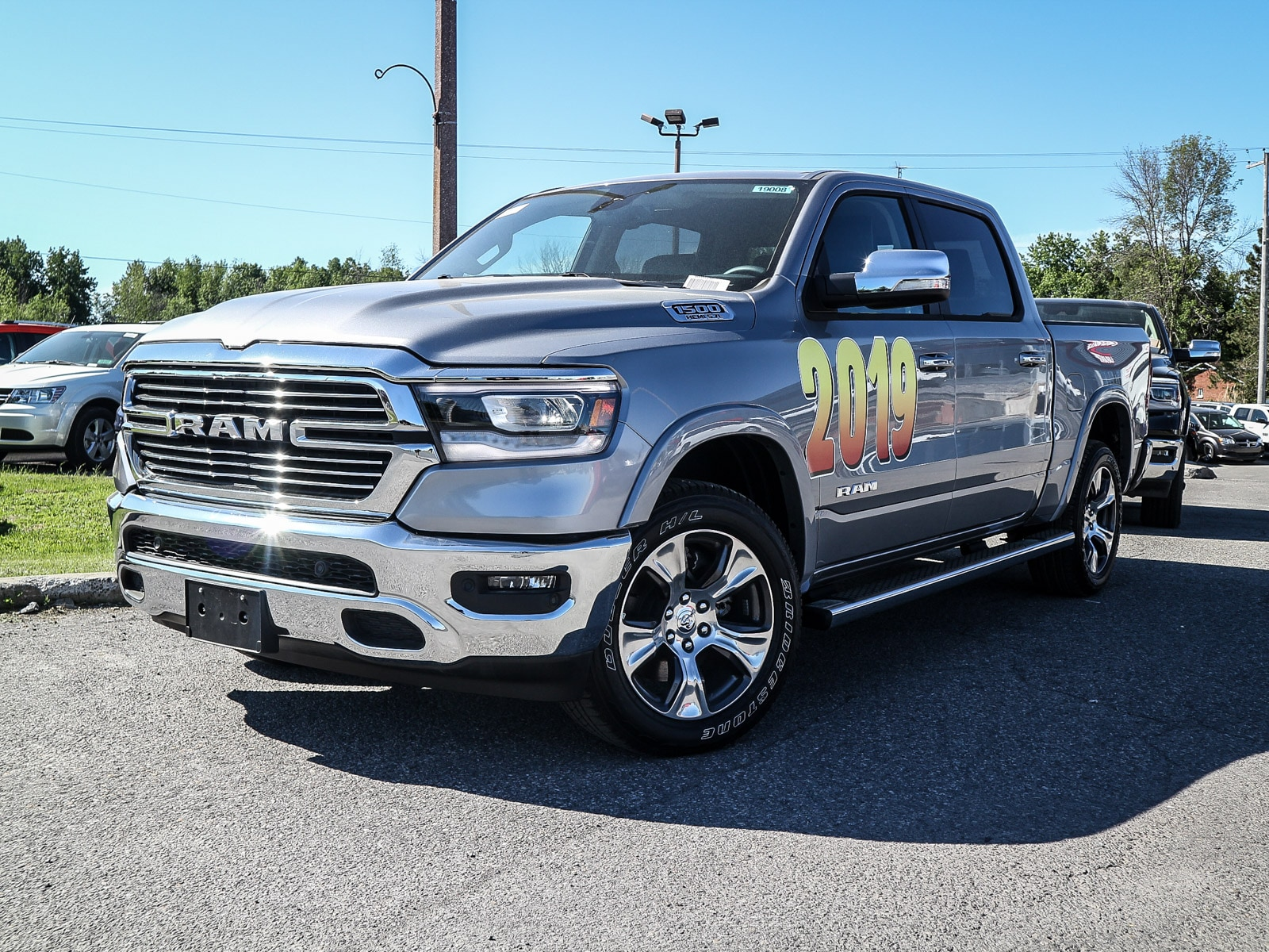 2019 Ram All-New 1500 Laramie Pickup Truck 19008