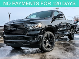 New 2020 Ram 1500 Big Horn Night Edition Pickup Truck 20052 for sale near Ottawa, ON