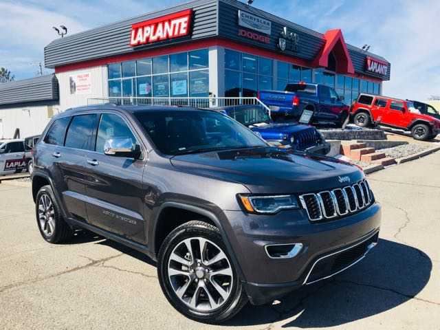 2018 Jeep Grand Cherokee Limited/Leather/Sunroof/Navigation SUV