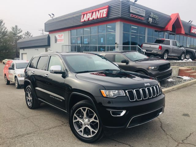 Featured used 2019 Jeep Grand Cherokee Limited 4x4/NAV/Sunroof/Heated Seats+Steering Whee SUV for sale in Embrun, ON