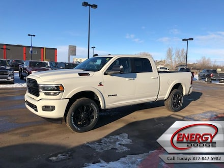 2019 Ram 3500 Laramie - Night Edition - Leather Seats Crew Cab