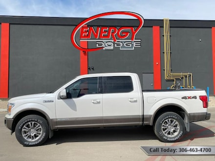 2018 Ford F-150 Lariat - Leather Seats -  Cooled Seats Crew Cab