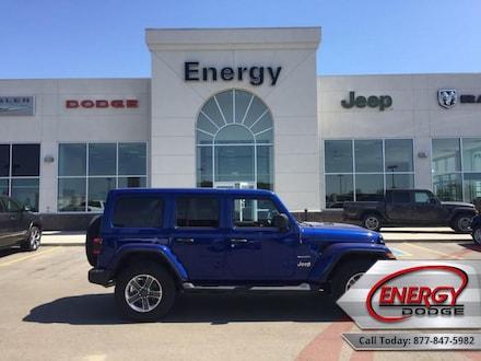 2020 Jeep Wrangler Unlimited Sahara - Leather Seats SUV