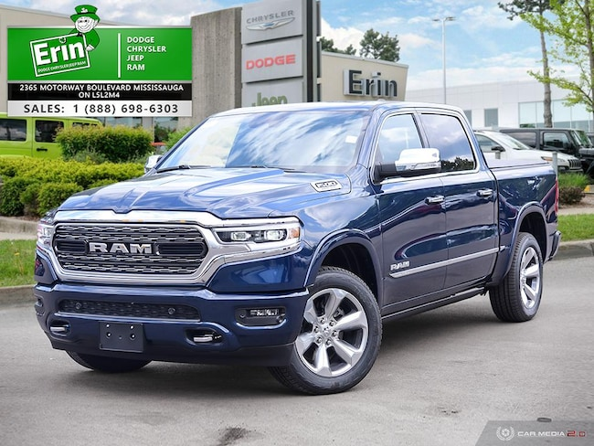 2019 Ram All-New 1500 LIMITED | BODY COLOUR BUMPER GROUP | HEMI | SUNROO Truck Crew Cab