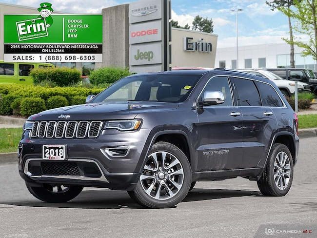 2018 Jeep Grand Cherokee LIMITED 4X4 | NAVI | CAMERA | PANO SUNROOF AND MOR