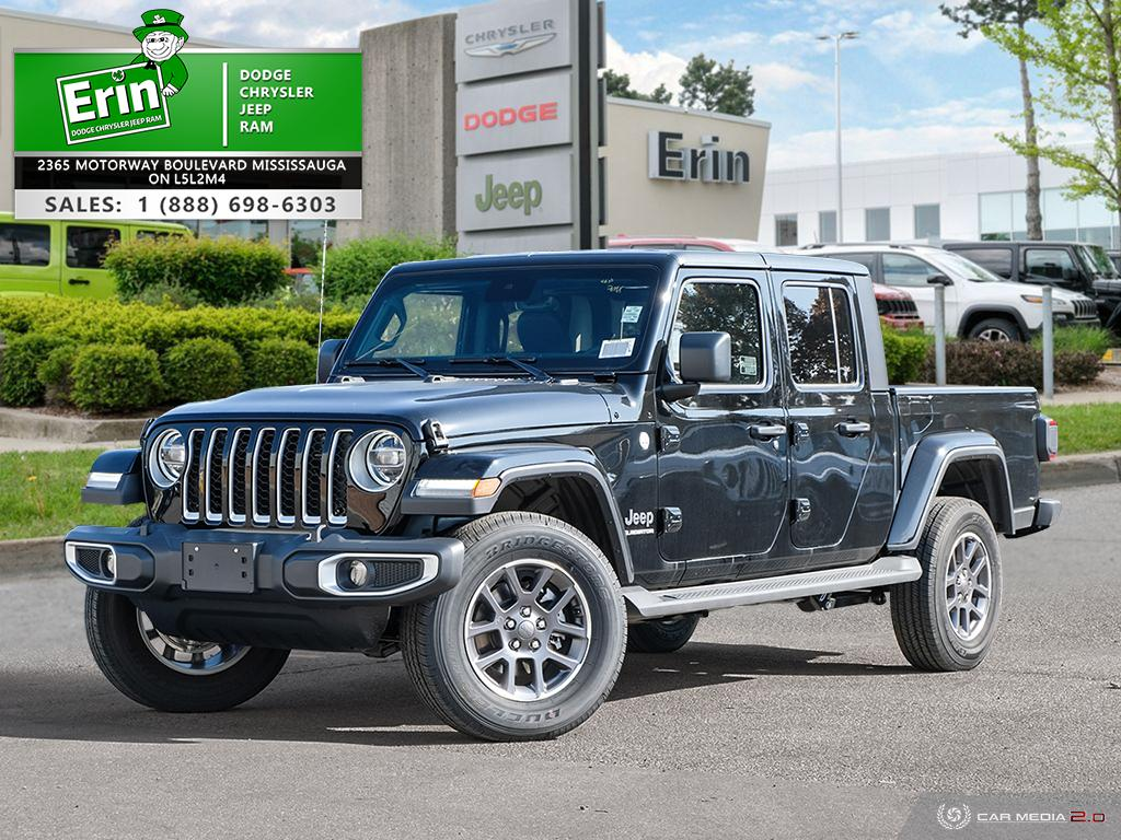2020 Jeep Gladiator OVERLAND 4X4 | LEATHER INTERIOR | COLD WEATHER GRO Truck Crew Cab